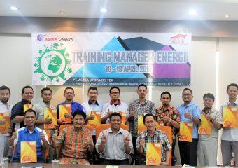 TRAINING DAN SERTIFIKASI MANAGER ENERGI DI ASTRA OTOPARTS Tbk